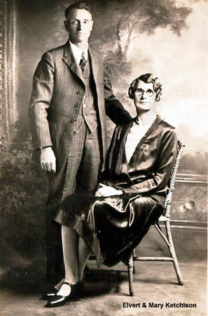 Elvert & Mary Jane Ketchison(Helmick)