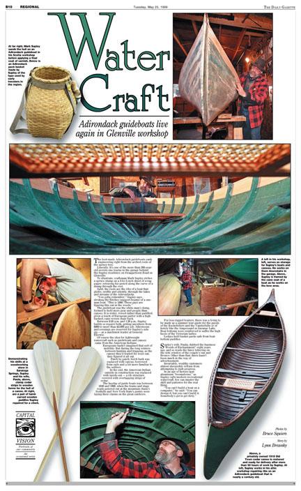 Adirondack Canoe Maker