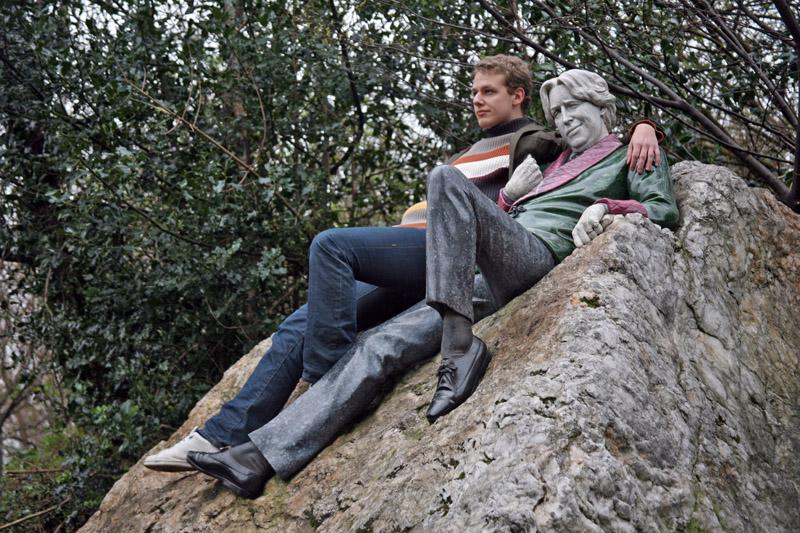 Chillin in the park