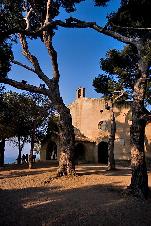La chapelle de La Garoupe.