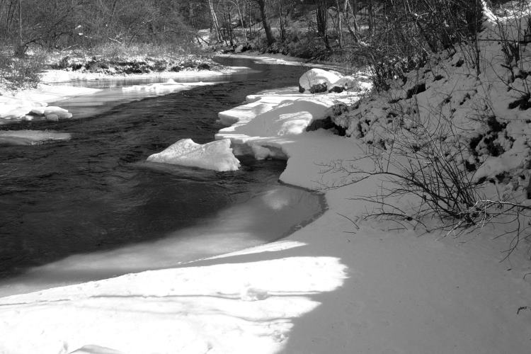Ice snow and water II