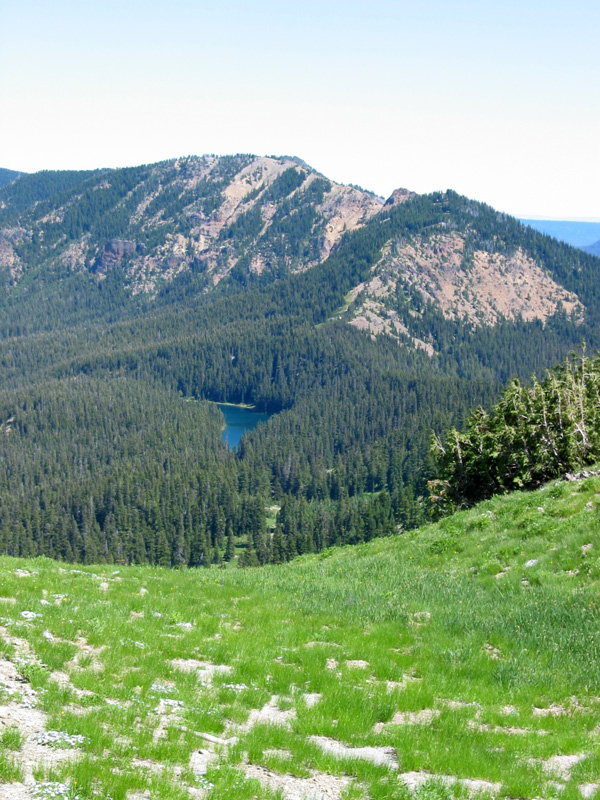 Surprise Lake from near Warm Lake