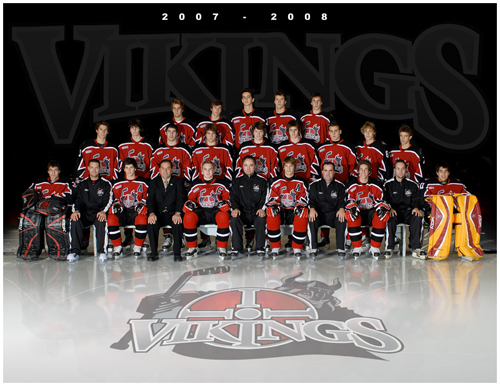 Vikings des Laurentides 2007-08