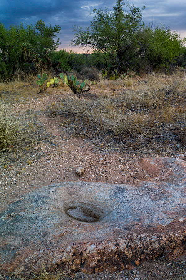 A mortar at the base of Pusch Ridge. This may have been used 600 years ago or 3000. L1056017.jpg