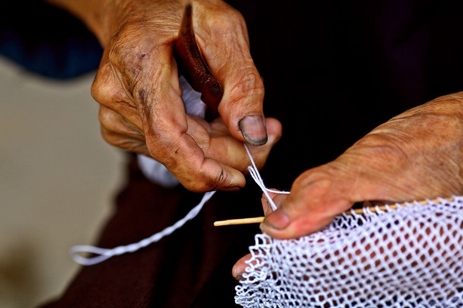 2540 Years of experience making fish nets.