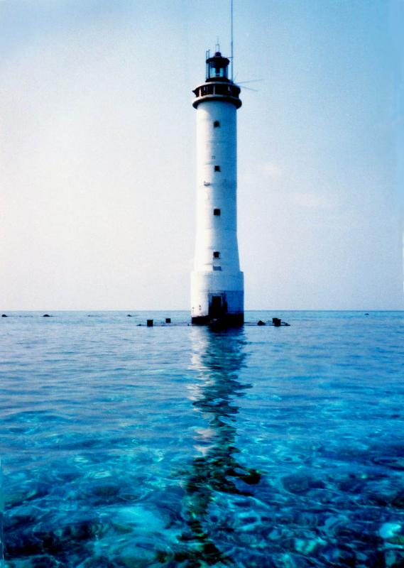 浪花礁燈塔 Lighthouse (Bombay Reef)