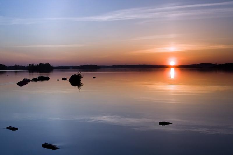 Pyhäjärvi Sunset