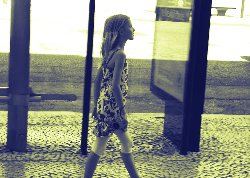 Walking in thoughts