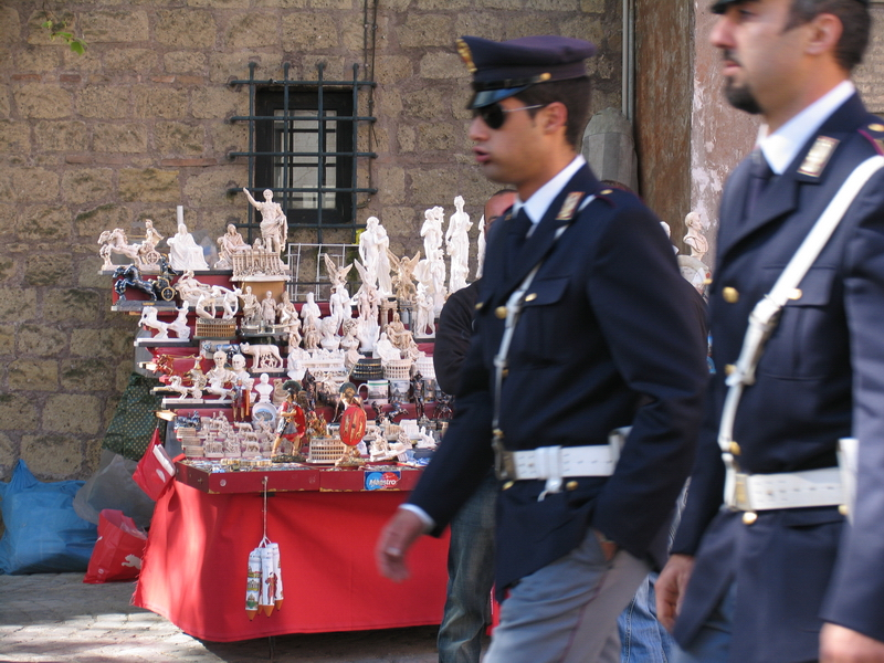 Commercialised police