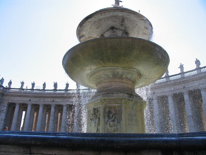Fountain Vatikan
