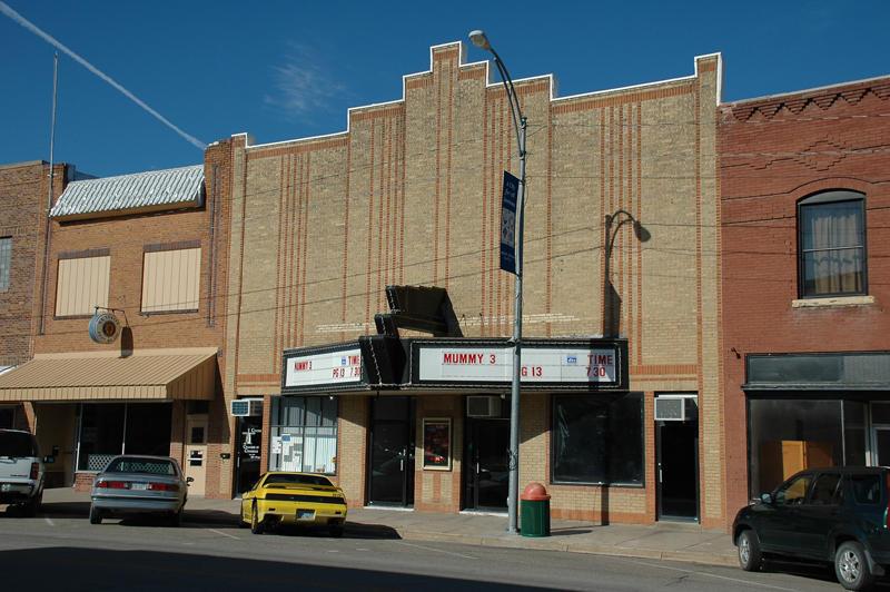 Smith Center, KS theatre.