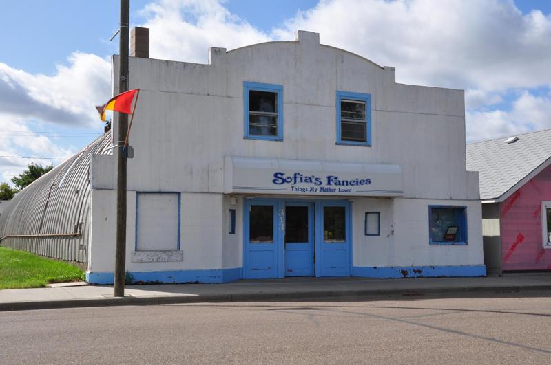 ex-movie theatre.