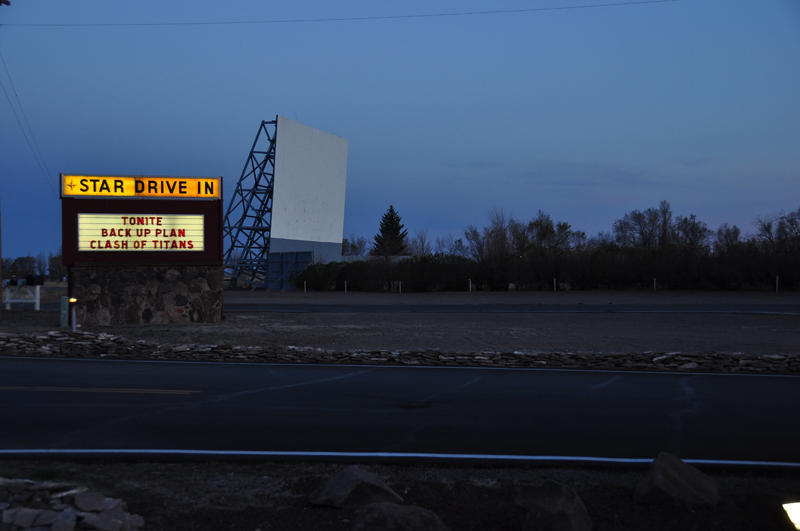 Screen #1 at the Star Drive In.