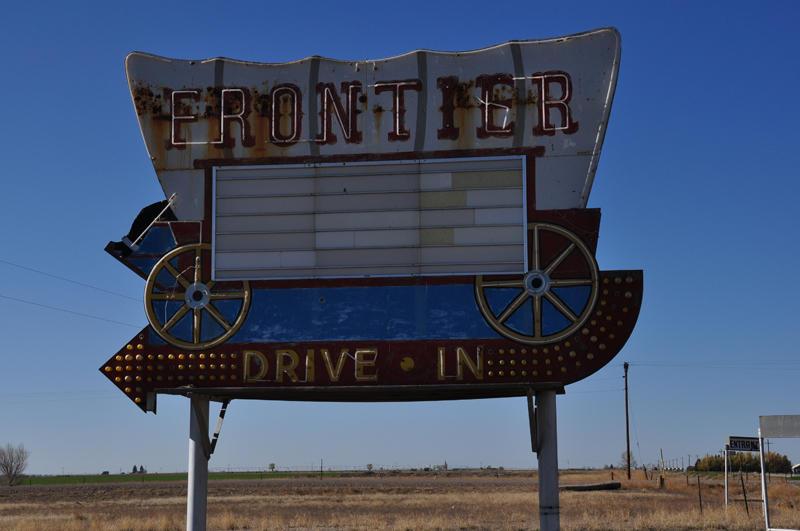 Frontier Drive In.