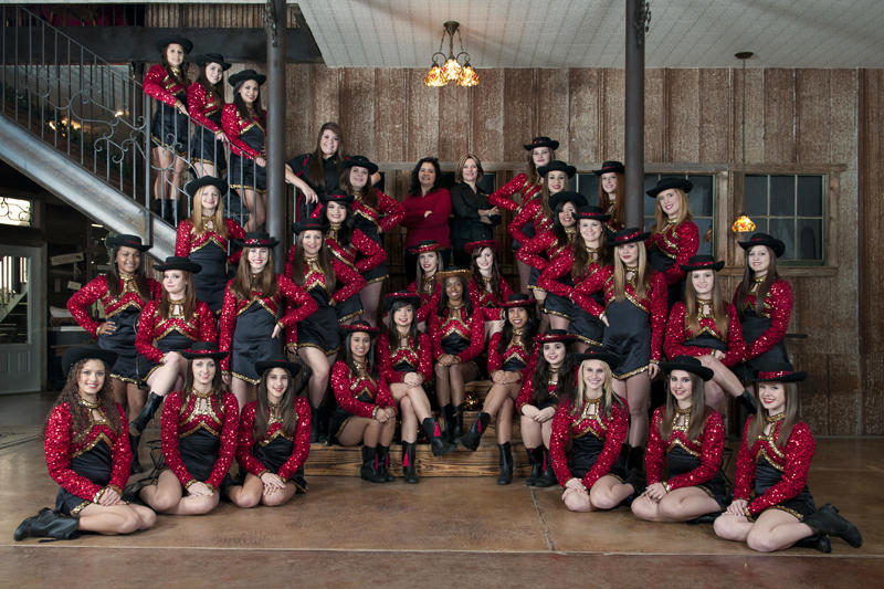 2010 - 2011 Golden Saber Dance Team