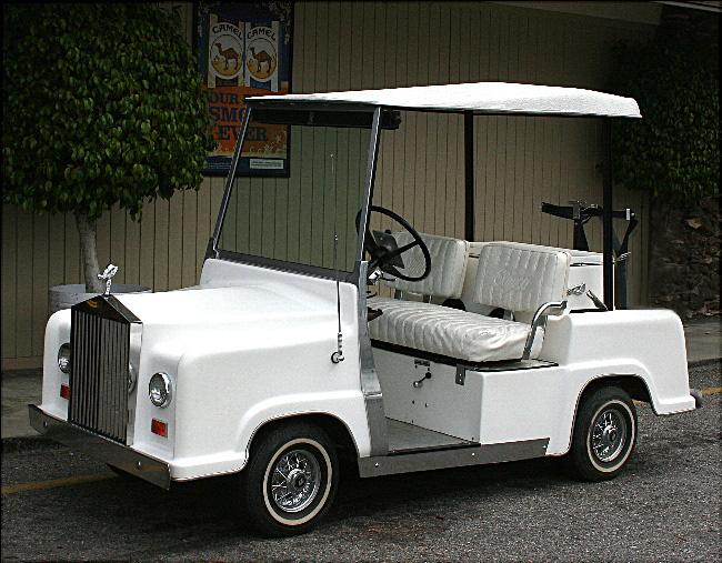 Rolls Royce Golf Cart >> Rolls Royce Golf Cart Built In 1976 Photo