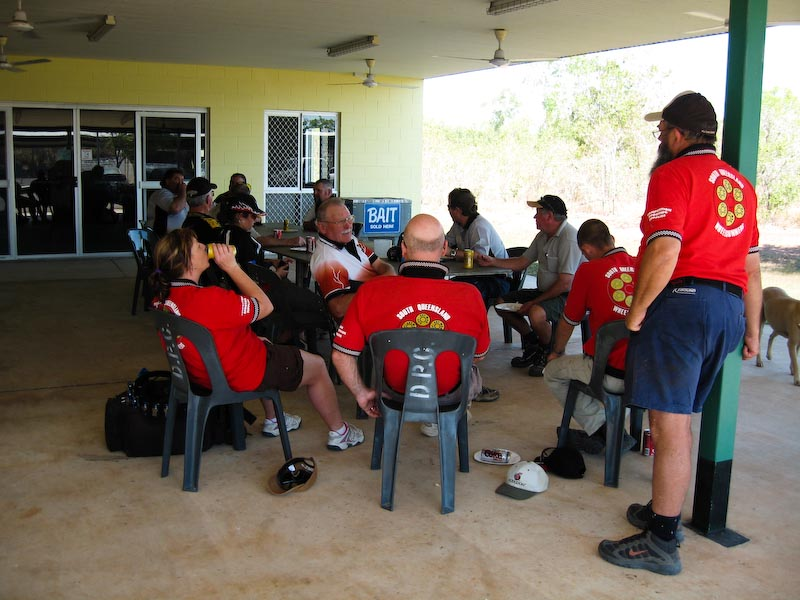 Revolver shooters at the ICORE State Titles in Darwin