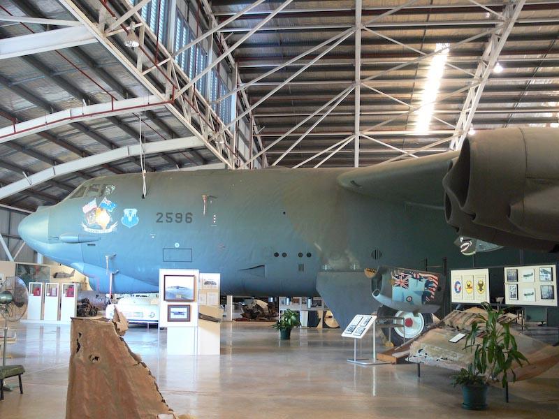 B52 Bomber at Darwin Aviation Heritage Centre