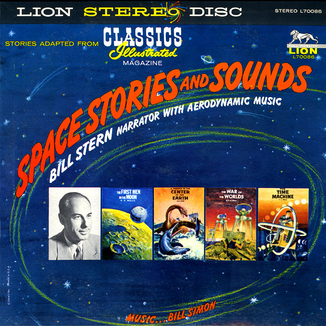 Classics Illustrated Space Stories and Sounds LP
