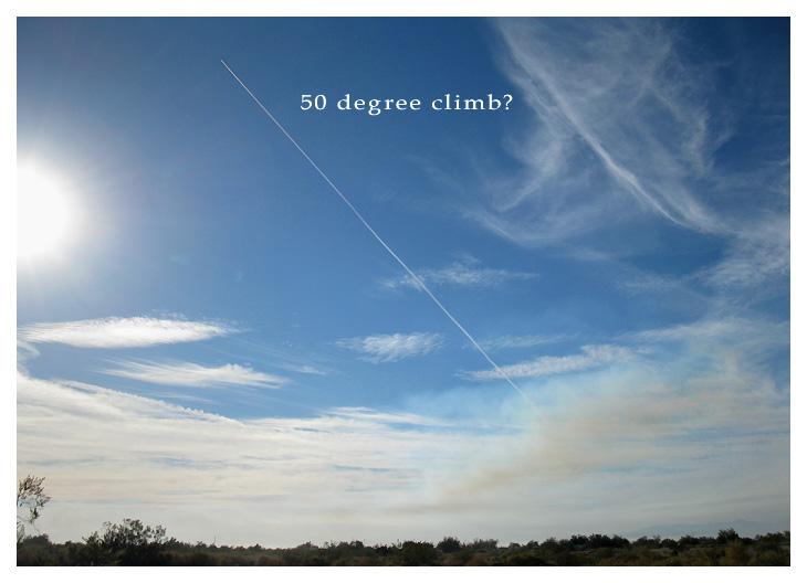 Very Steep 50 Degree Climb