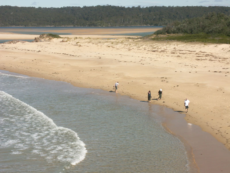 Beach at Tuross Heads