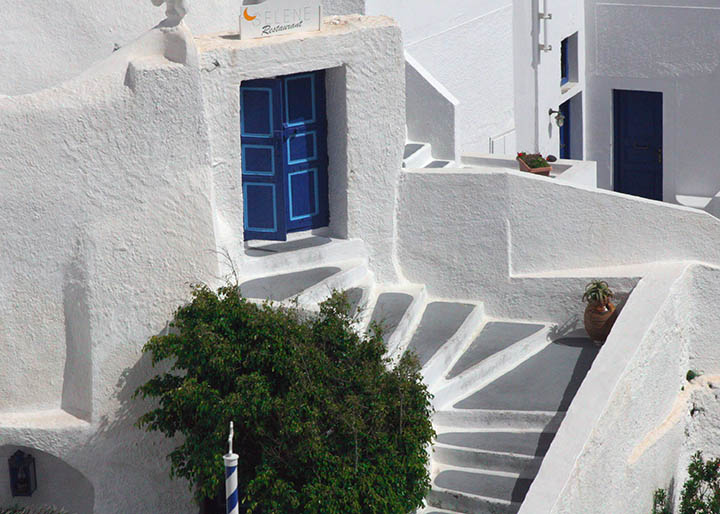 Study in blue, white and green - Santorini.jpg