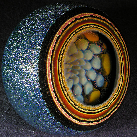 Check out the layers of color in that geode, WOW!