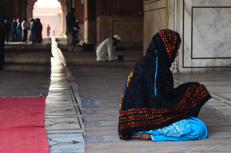 Jama Masjid.Old Delhi