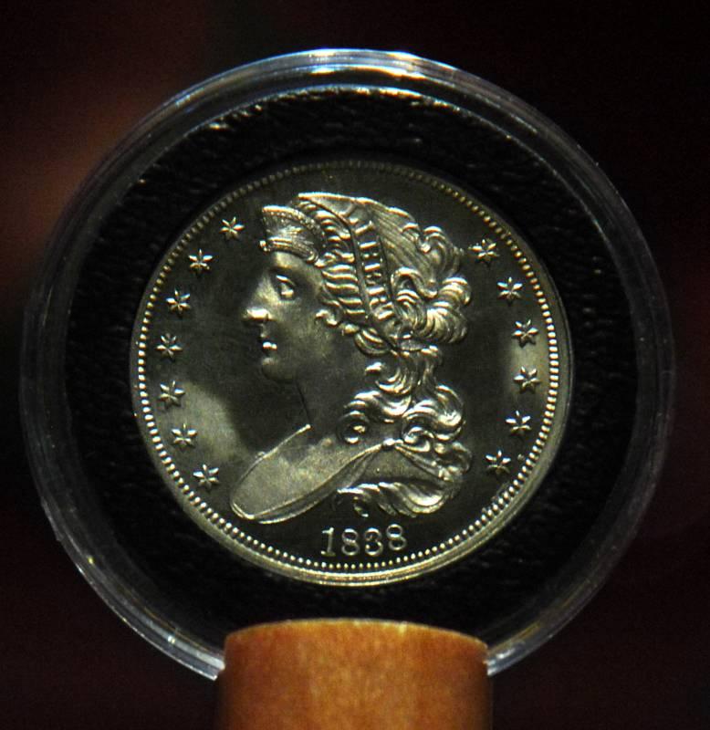1838 Draped Bust  50c Pattern