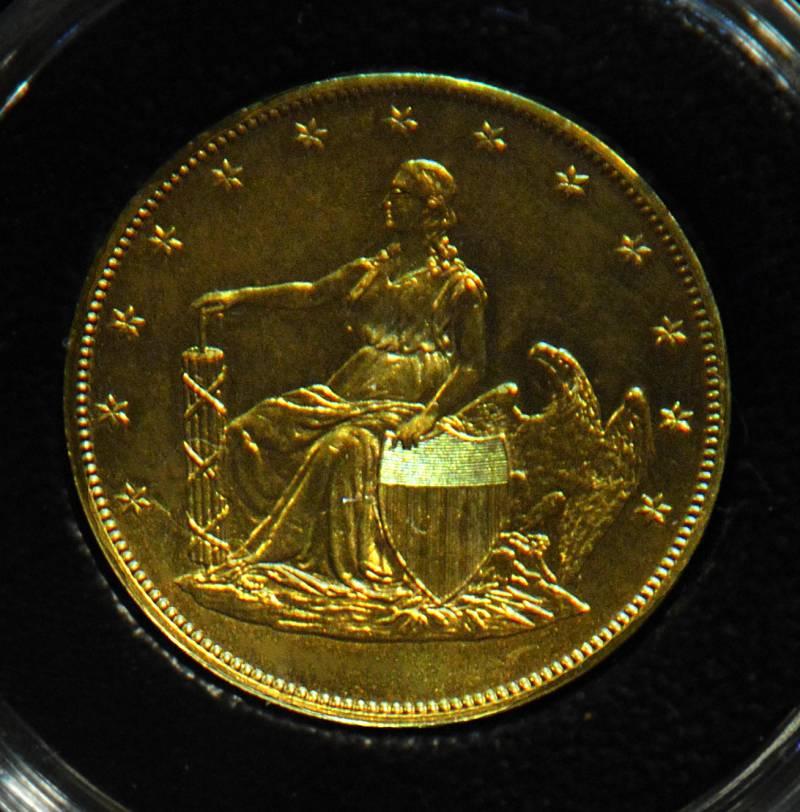1859 $20 Seated Liberty Pattern