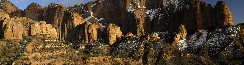 Southern Kolob Canyons, Dusk