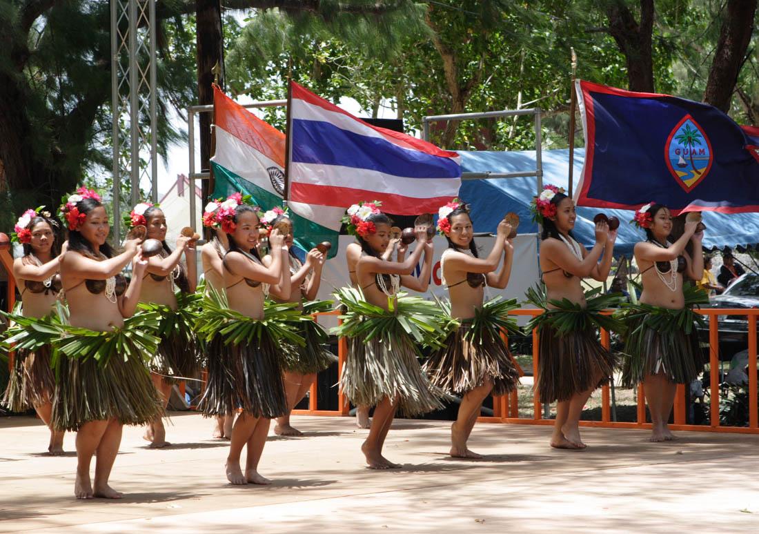 Flame Tree Festval Dancers