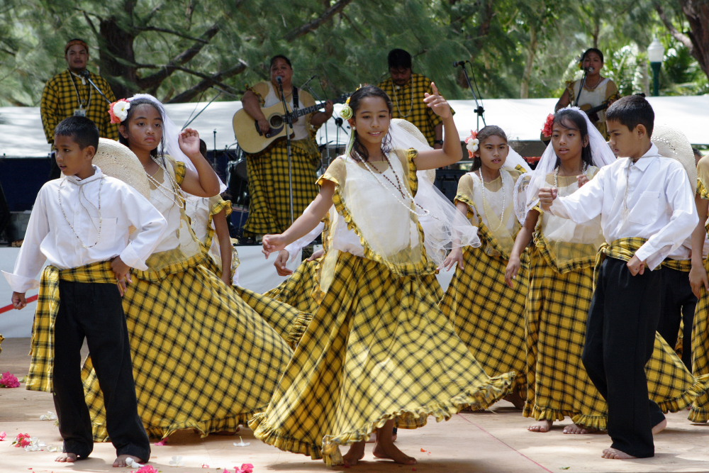 Flame Tree Festival Dancers