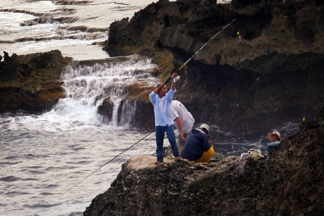 Cliff Fishing