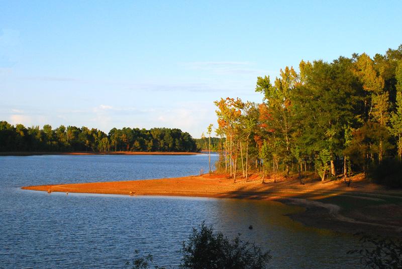 Lake, late Sunday afternoon