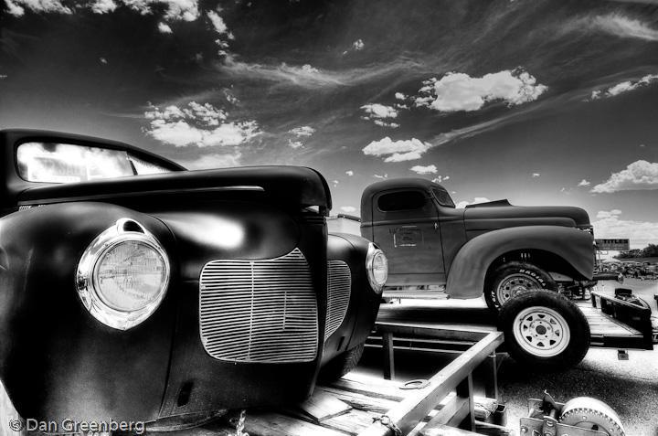 1940 DeSoto and 1947 International Truck