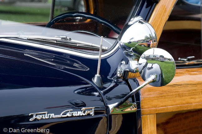 1948 Chrysler Town and Country Mirror