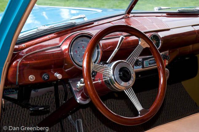 51 Ford Dashboard