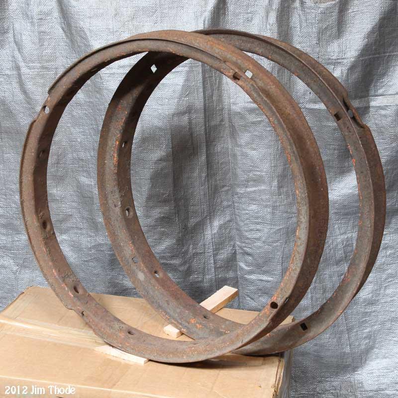 Steel Felloes,  $25 ea