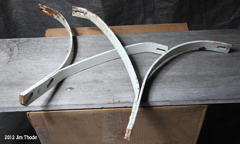 Bumper brackets,  (Model A??) $20