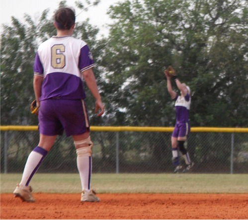 Katelyns Leaping Catch in Deeep Right