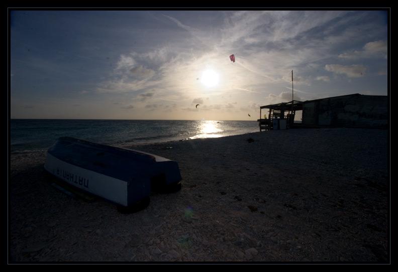 Kite Surfing by Fish Hut