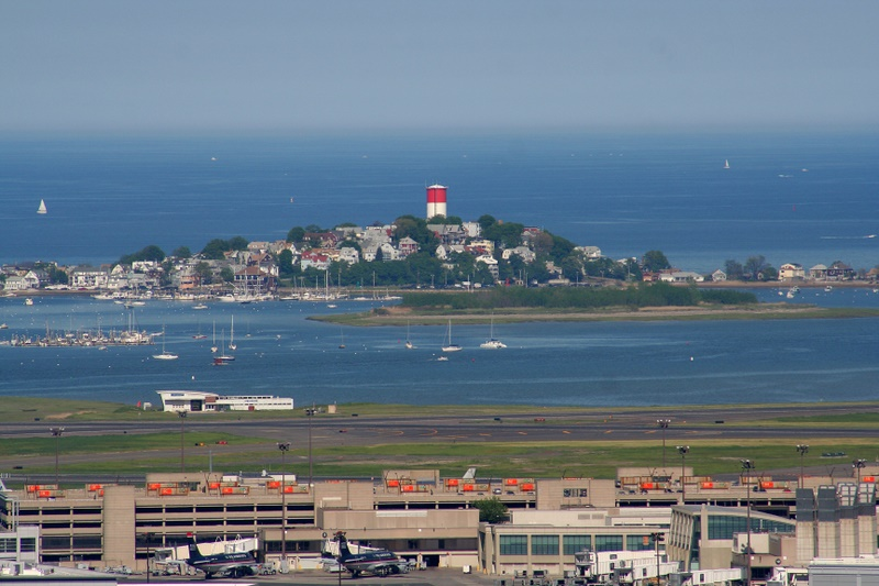 Logan Airport and Harbor, Boston