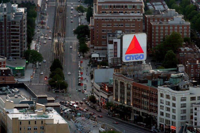 Kenmore Square and Citgo Sign in Boston