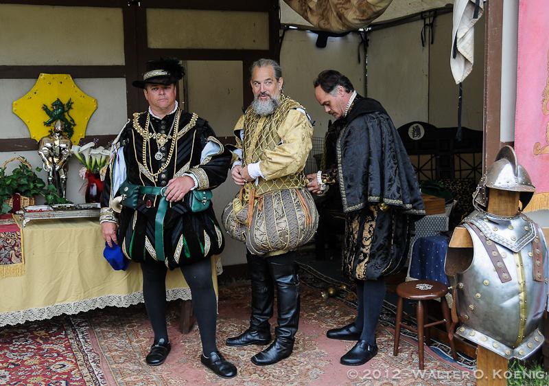 The Gentlemen dress for Court