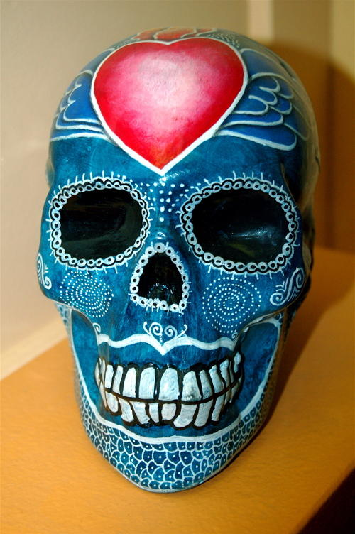 Calavera with love on the mind