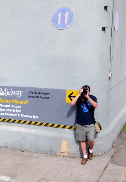 At the USS Midway Museum