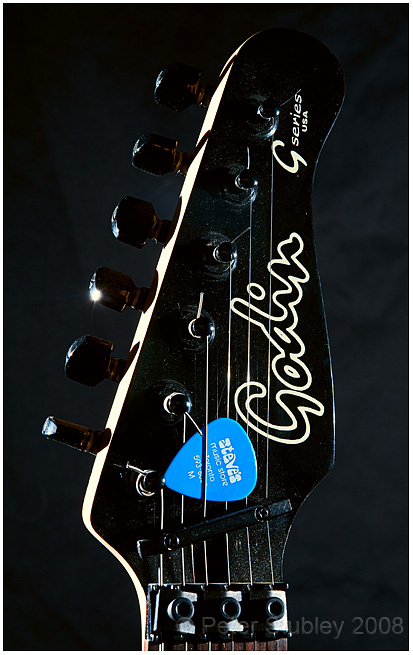 Blues guitar.