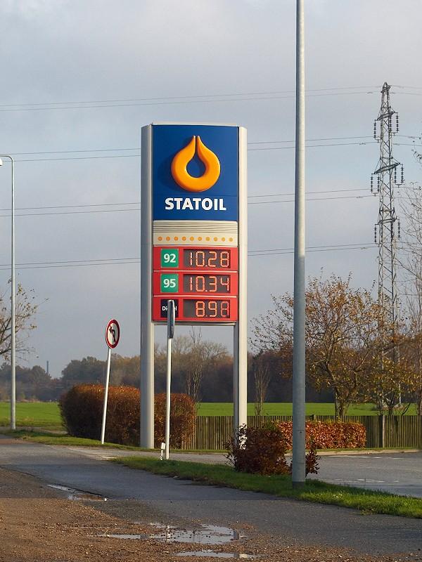 2009-11-07 Again well above DKK 10 pr. liter