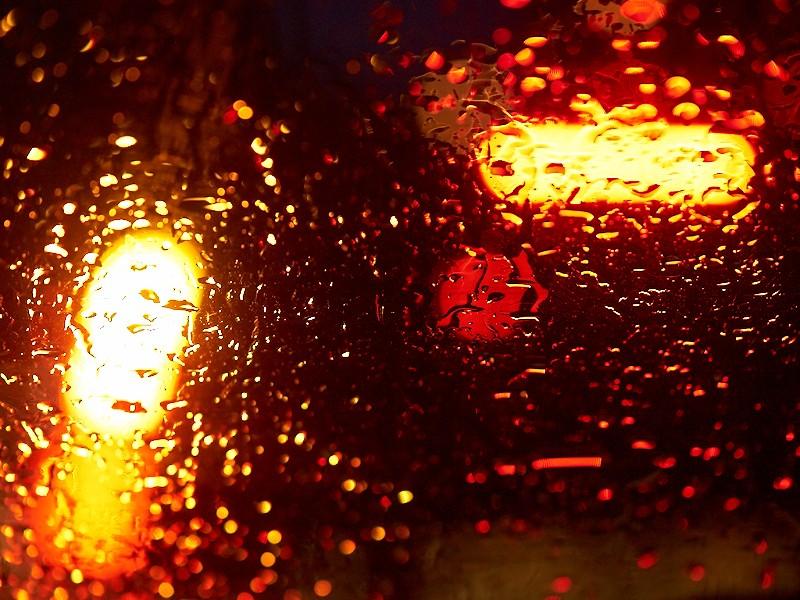 2009-11-19 Lights in rain
